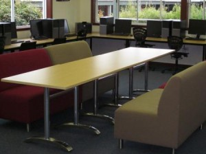 The Exchange - new lounges and tables