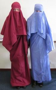 Homemade burqas